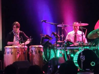 Ali Khan on Kandler Custom Drums 2014 6