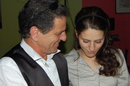 Ali Khan und Tochter Lana beim 18 ten Burzeltag