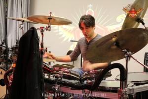 kingdomofkhan ali khan drums 2014 schlossprobe silverstage masan raschner bono johnson (6)